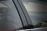 6pcs abs for Corolla 2014 2017 Car window Central column Sticker Mirror B C column decorative sticker