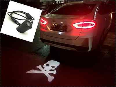 Car Motor Skull Preventing Rear End Collision Tail-crash-proof Laser Fog Light