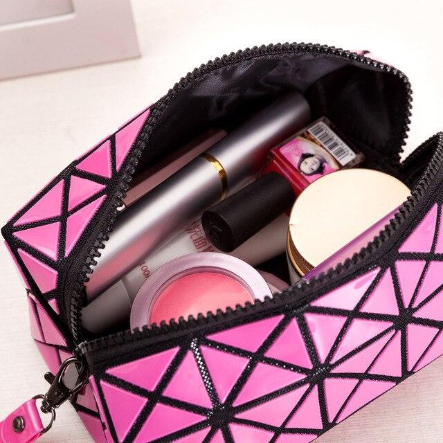 Fashion Folded Geometric Plaid Women Clutch purses Women's Clutches little bag ladies Handbags bolsa feminina wristlets wallet