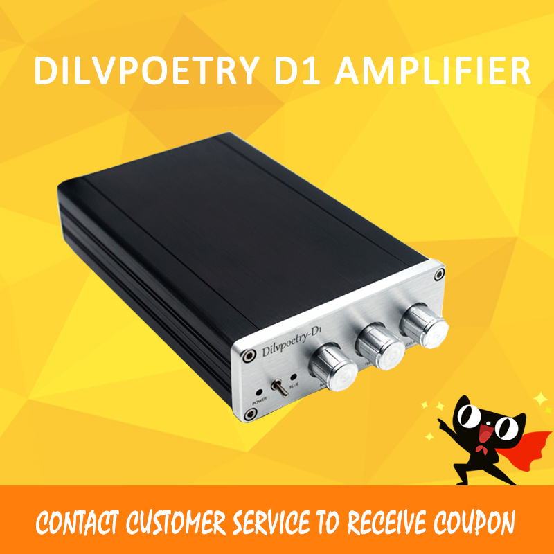 Dilvpoetry D1 Power Amplifier HI FI subwoofer TPA5613 Bluetooth 4.0 Digital 2.1 amplifier amplificador portable preamp amp цена 2017