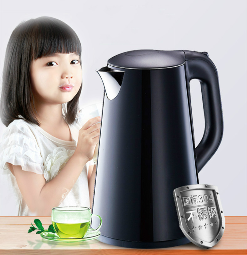 Electric kettle 304 stainless steel kettles home Safety Auto-Off Function new high quality electric kettle 304 stainless steel kettles home cooking automatic blackouts safety auto off function