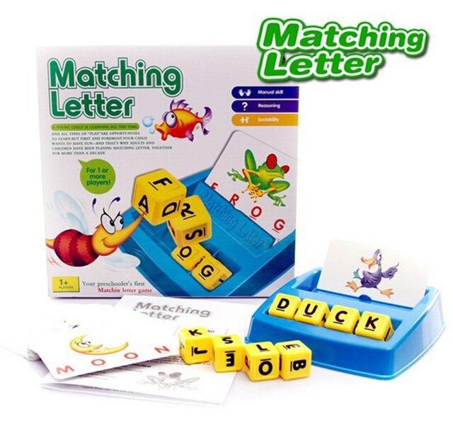 Anak Anak Belajar Bahasa Inggris Mainan Pendidikan Huruf Yang Cocok