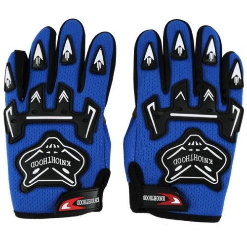 Гоночные перчатки для крутой молодежи/PEEWEE дети ATV мотокросс мотоцикл внедорожные MX DIRT BIKE перчатки гонки GUANTES - Цвет: Синий