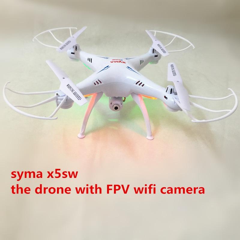 SYMA X5SW FPV Dron 2.4G 6-AxisDRONES Quadcopter Drone Med Kameran - Radiostyrda leksaker - Foto 2