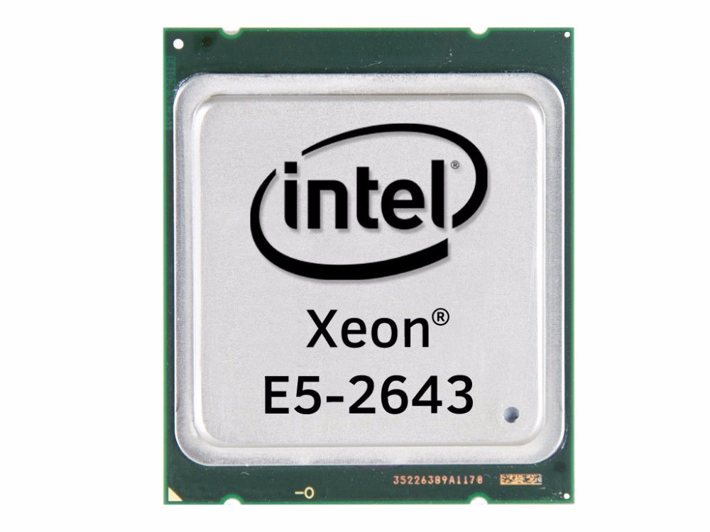 Intel Xeon E5 2643 SR0L7 3 30Ghz CPU LGA 2011 Quad Core Processor