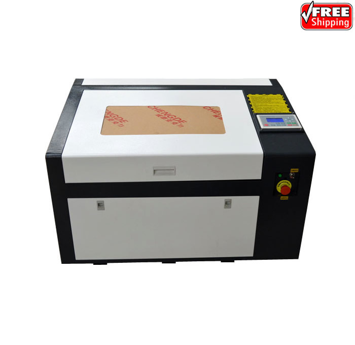 newest LY 6040 PRO 50W laser engraver high speed version support off line control speed line pro