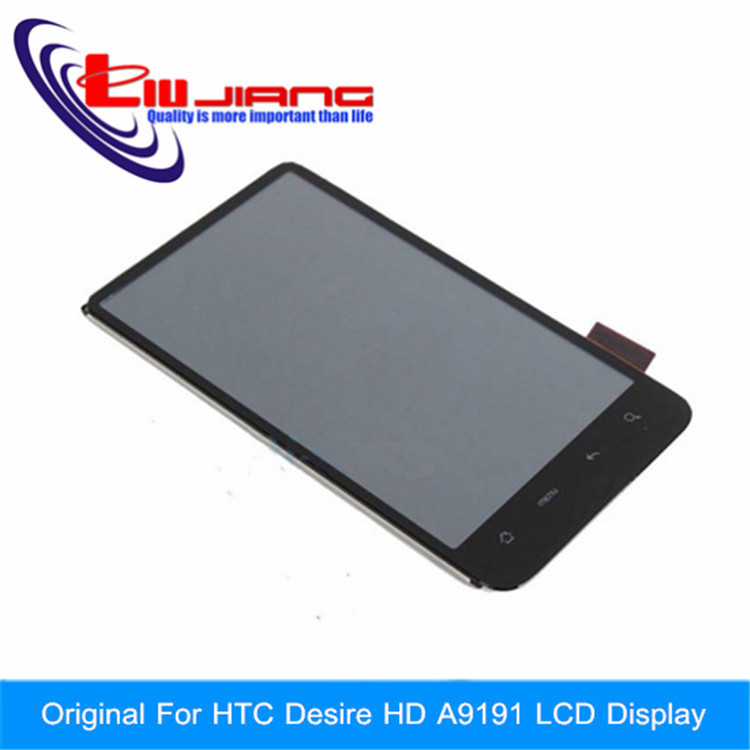 LCD Display Touch Screen Digitizer Assembly Replacement Part for HTC Inspire 4G Desire HD A9191 G10 LCD Free shipping