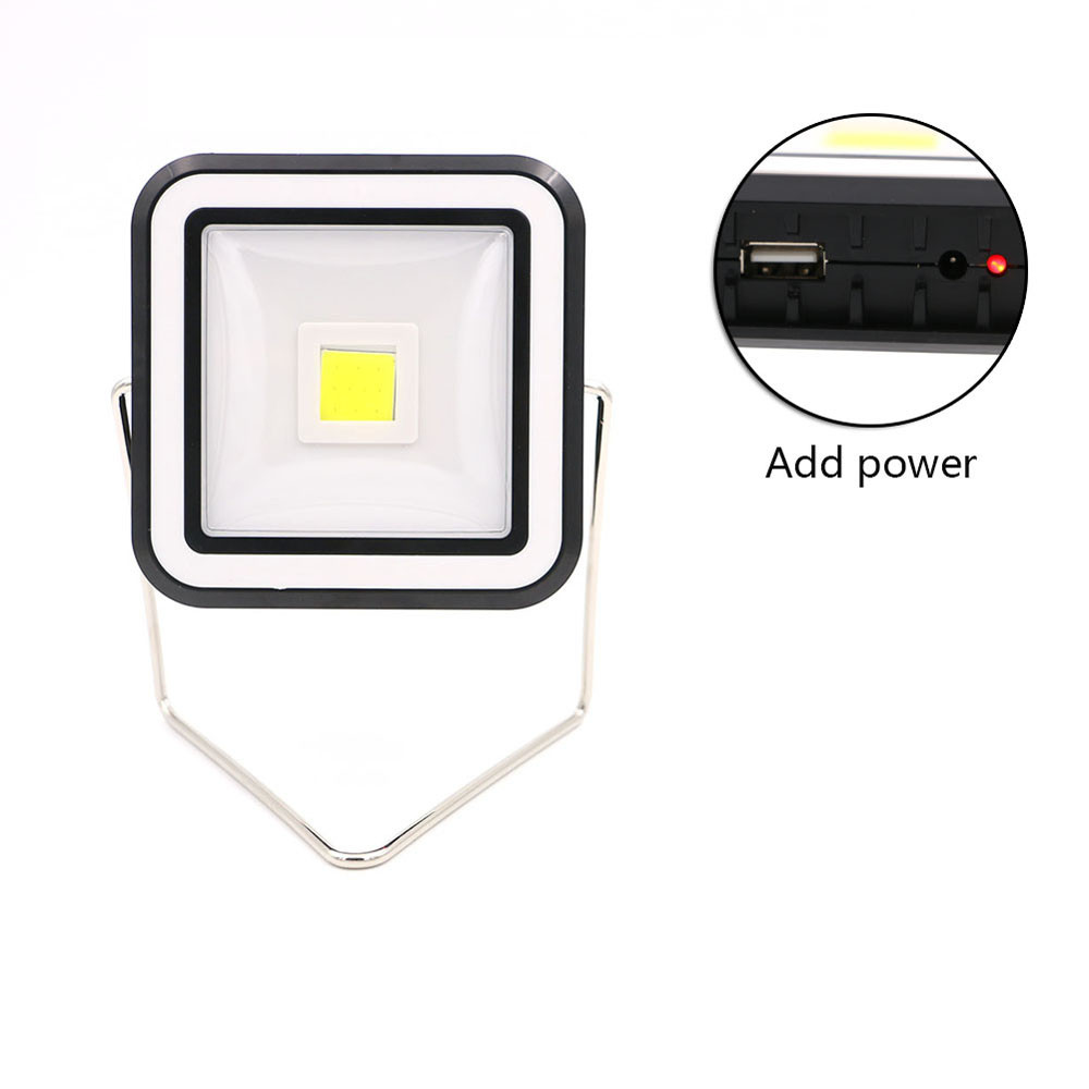 Bike light 2-Mode Bright LED Camping Lantern Solar Power Rechargeable Hiking Emergency Light A1