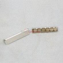 """100 шт./лот 1,2"""" 32 мм никелевая Пряжка концевой наконечник для лямки тег мешок F172F3"""