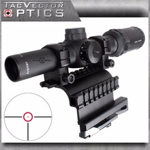 Векторная оптика AK47 AK74 1-4x24 Компактный тактический 30 мм прицел с AK 47 74 QD боковой рейкой Крепление подходит для настоящего оружия 2 в 1