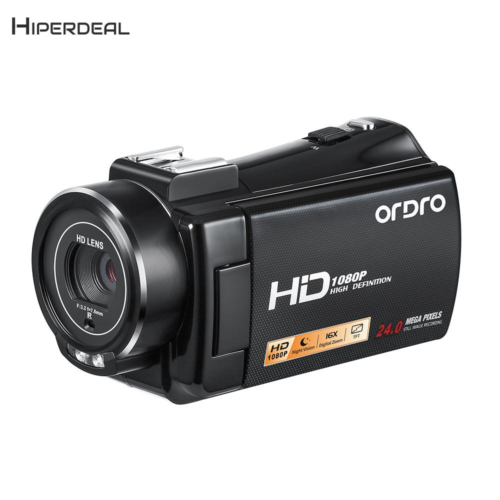 HIPERDEAL HDV-V7 PLUS 16X Digital Zoom 1080P FHD IR Night Vision Anti-Shake Digital Camera Vedio Camcorder Digital Anti-Shake