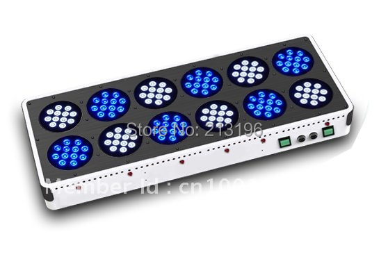 DHL Free shipping NEW 400w Apollo 12 Led aquarium light/Apollo 12 Led tank light