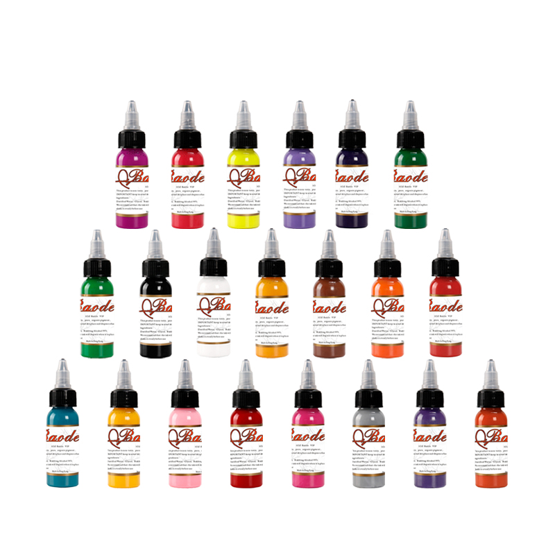 21 Pcs Tattoo Pigment Set Professional Microblading Pigment Tattoo Ink 1oz 30ml/Bottle Permanent Makeup Pigments Tattoo&Body Art