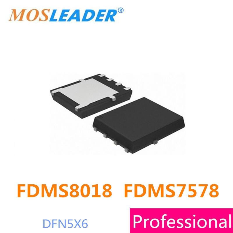 Replacement Parts & Accessories Mosleader Fdms8018 Fdms7578 Dfn5x6 10pcs 100pcs Qfn 8018 High Quality