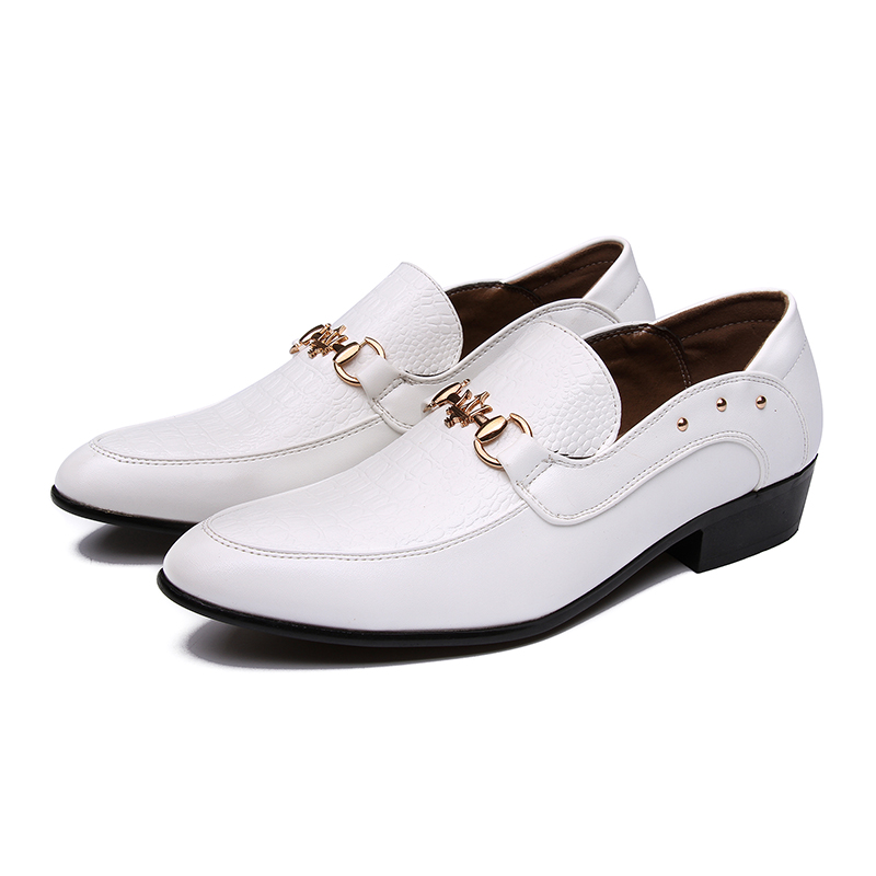 Compare Prices on Mens White Leather Dress Shoes- Online Shopping ...