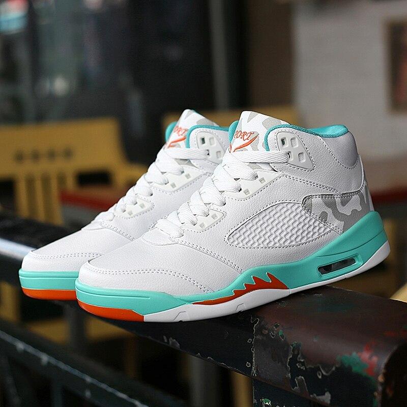 Senta Marke Mens Basketball Schuhe Für Verkauf High Top Original Schuhe Jungen Leder Gym Training Stiefel Herren Kissen Sport Schuhe Sport & Unterhaltung