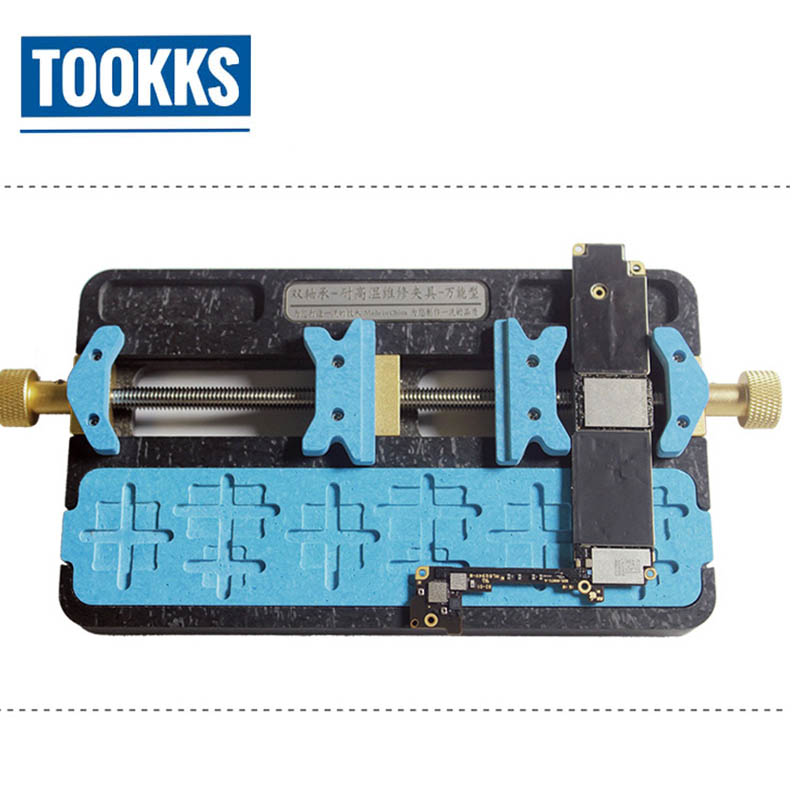 Double Bearing High Temperature BGA IC Chip Motherboard Jig Board Holder Maintenance Fixture For Mobile Phone Tablet Repair