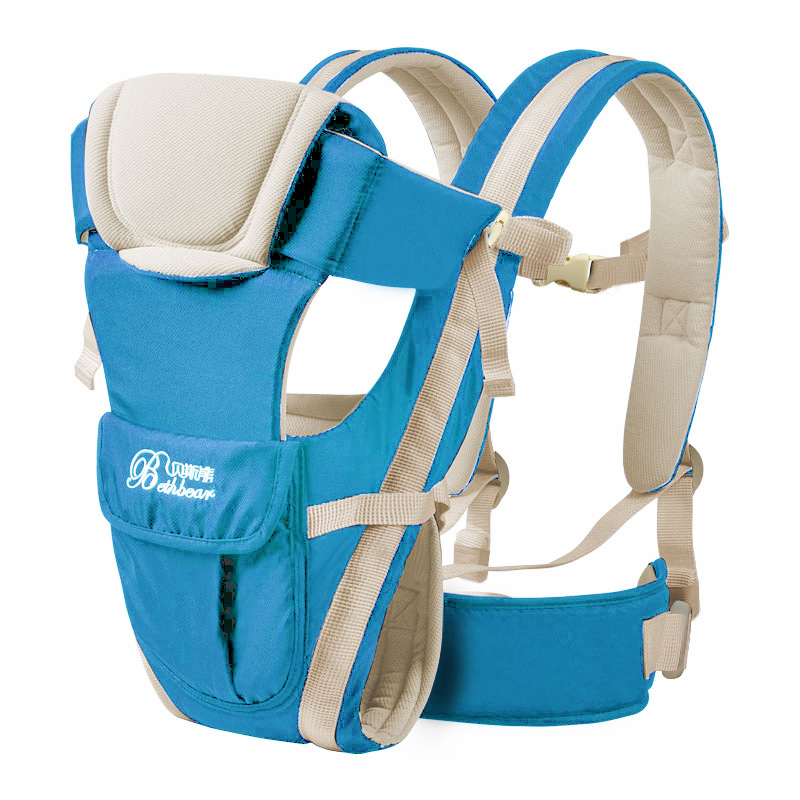 Updated 0-30 Months Multifunction Front Facing Baby Carrier Infant Sling Backpack Pouch Wrap Baby Kangaroo Kids Hipseat Carriers