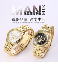 Relojes Hombre Men Clock Hot 2016 New Famous Brand Gold  Mcy Kcy Casual Quartz Watch sport Stainless Steel Dress Watches