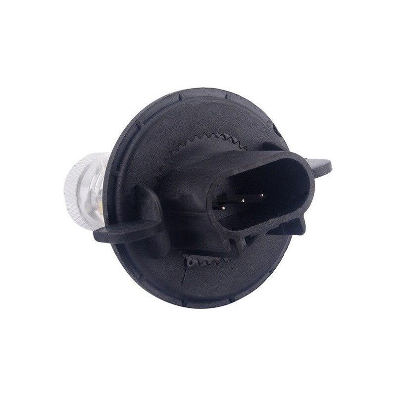1 Pcs H13 80W Led White Brake Lights Fog Tail Driving Car Light 16 SMD Daytime Running Light DRL Lamp Bulb HeadLight