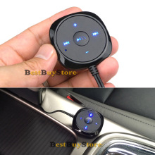 New Handsfree Bluetooth Car Kit Speakerphone with 5V 2.1A USB Car charger for iPhone for Mobile smartphone