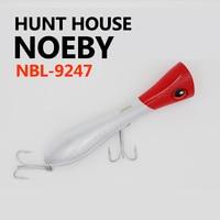 2017 Noeby 9247 130 그램 포퍼 하드 미끼 독특한 큰 립 장착 더 VMC 후크 사냥