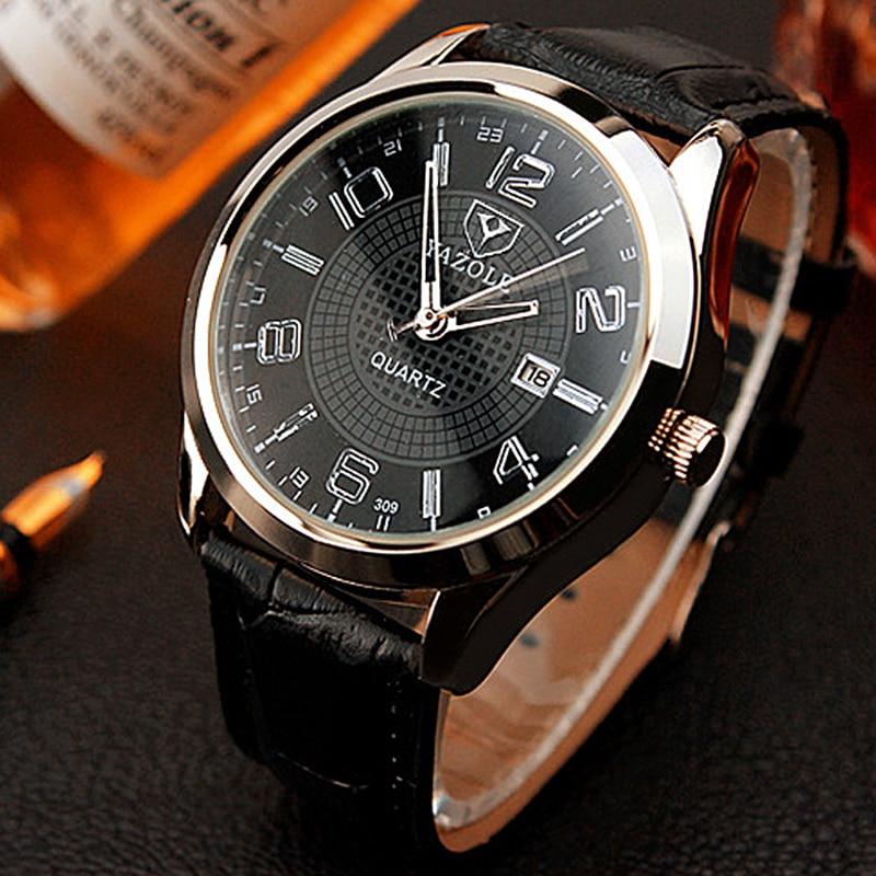 YAZOLE Relogio Masculino Top Brand Wrist Watch Men Watch Fashion Men's Watch Sport Watches Men Clock montre femme reloj hombre все цены