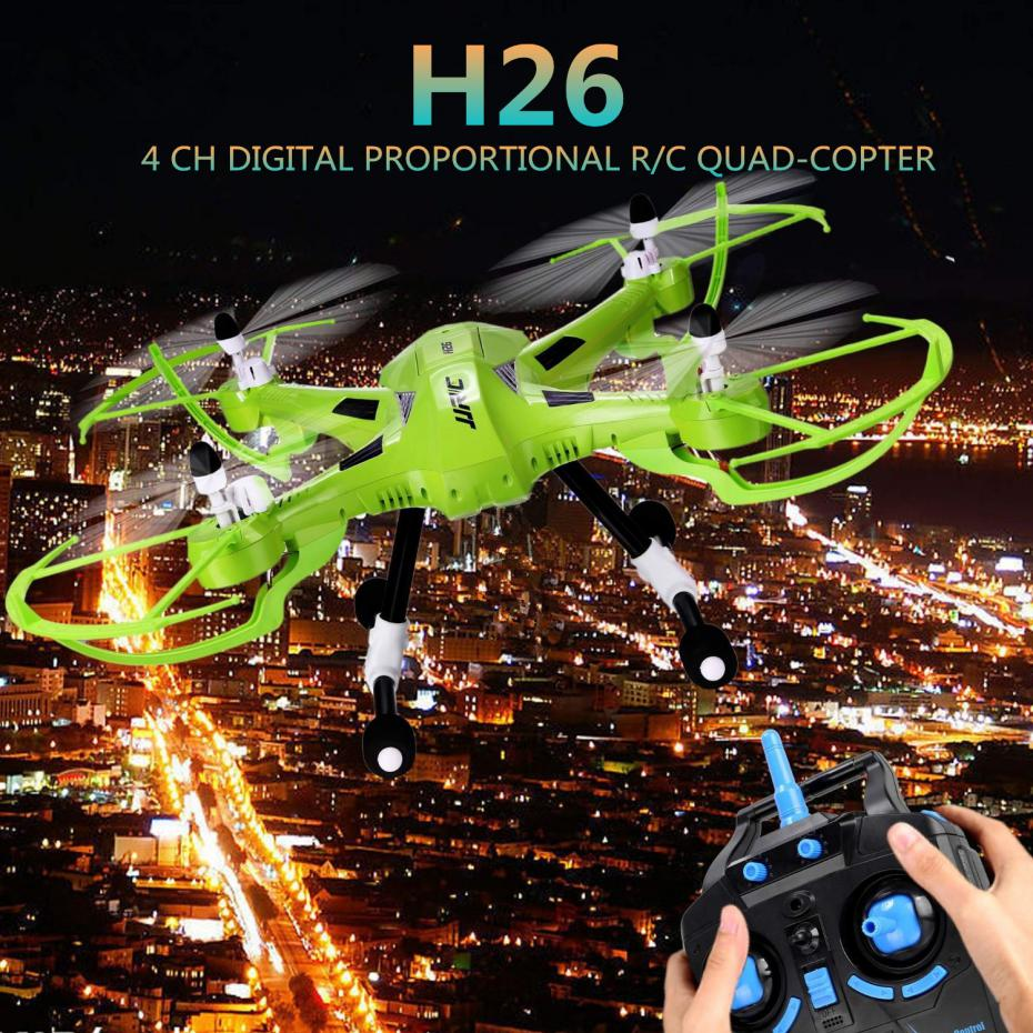 JJRC H26 2.4G 4CH 6 Axis Quadcopter Gyro Remote Control Hexacopter Professional Drone Dron Rc Flying Helicopter rc drones remote control hexacopter professional dron quadcopter original mjx x600 flying 6 axis helicopter copter vs syma x6sw
