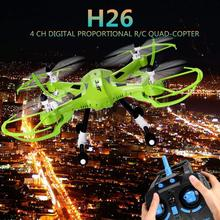 JJRC H26 2.4G 4CH 6 Axis Quadcopter Gyro Remote Control Hexacopter Professional Drone Dron Rc Flying Helicopter
