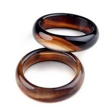 5pcs Wholesale Natural Stone Ring Multicolour Band Rings For Women men Mixed Size Vintage Jewelry AAAA