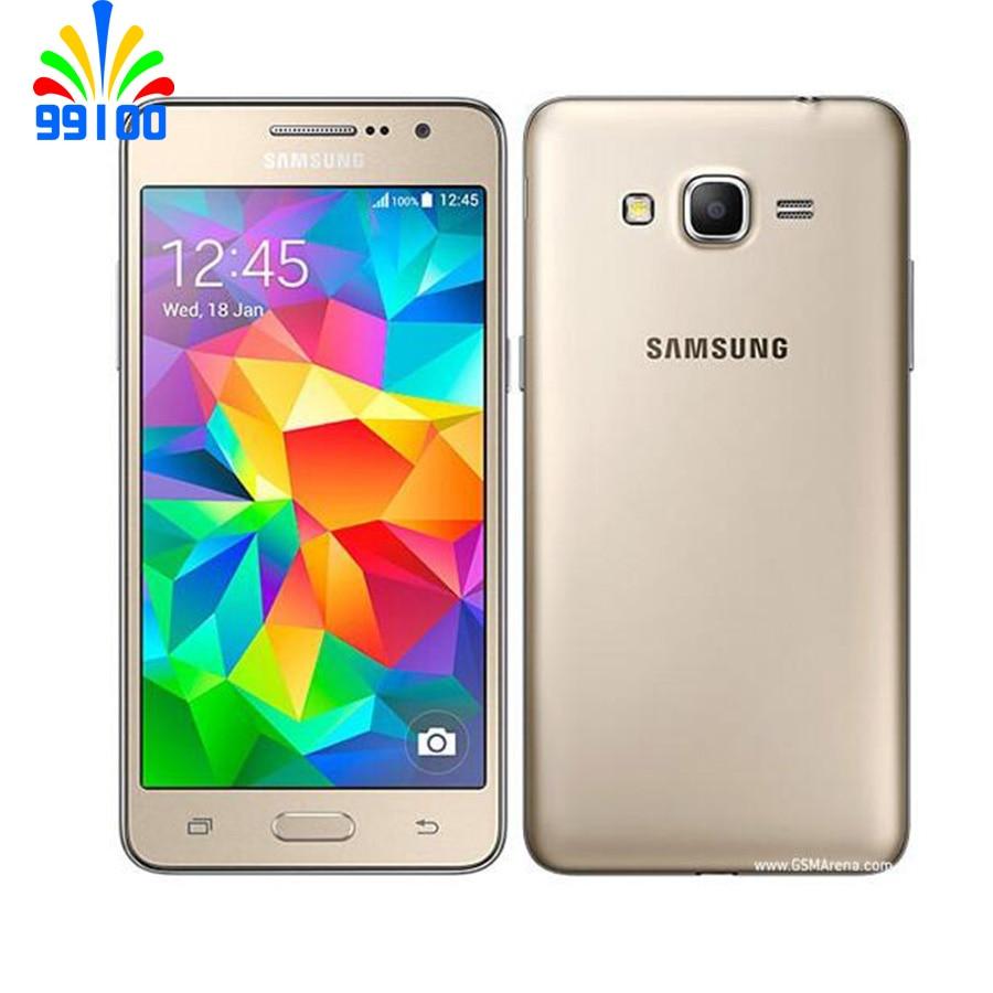 Восстановленный разблокированный сотовый телефон Samsung Galaxy Grand Prime G530h, экран 5,0 дюйма, две Sim-карты, 800/1800 МГц WCDMA 1800/1900/2100