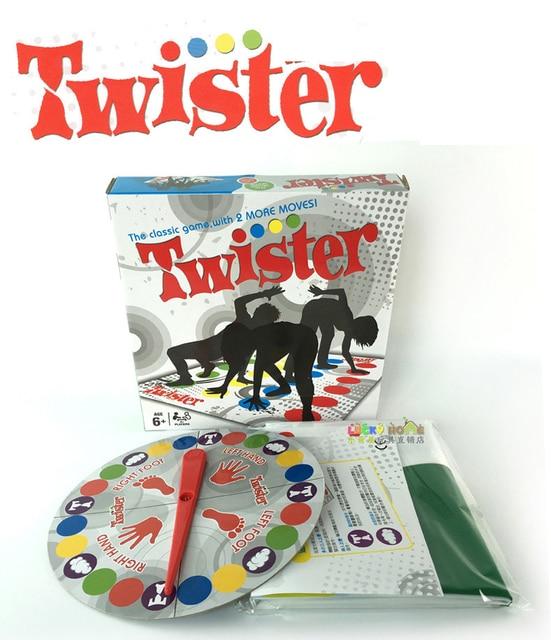 Lo Nuevo Juego Twister Bordo Adultos Ingles Version Del Partido