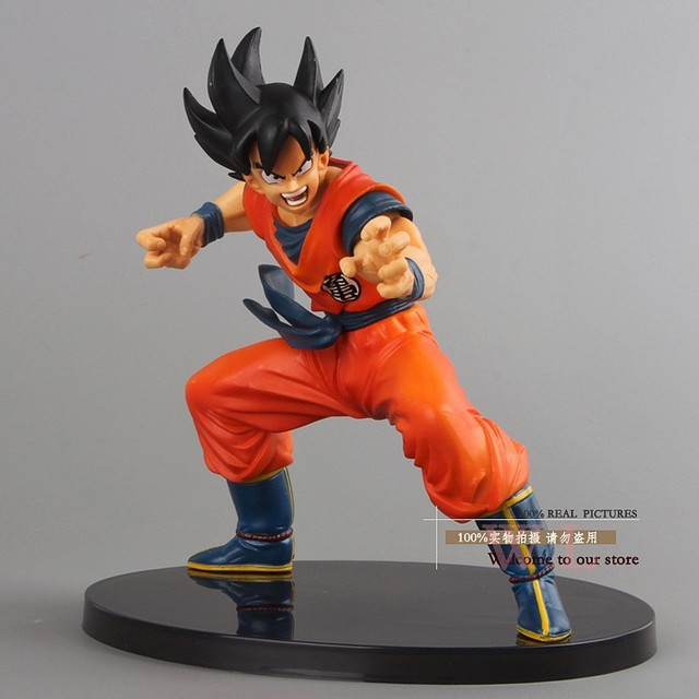 "Japanese Anime Dragon Ball Z Figures The Monkey King Goku PVC Action Figure Cartoon Toy 6""15CM Free Shipping"