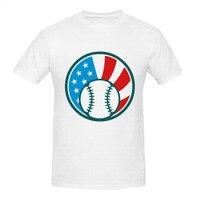 RTTMALL Swag Spring Apparel Harajuku T Shirt For Men O Neck Baseball AmericanStyle Hot Topic Man