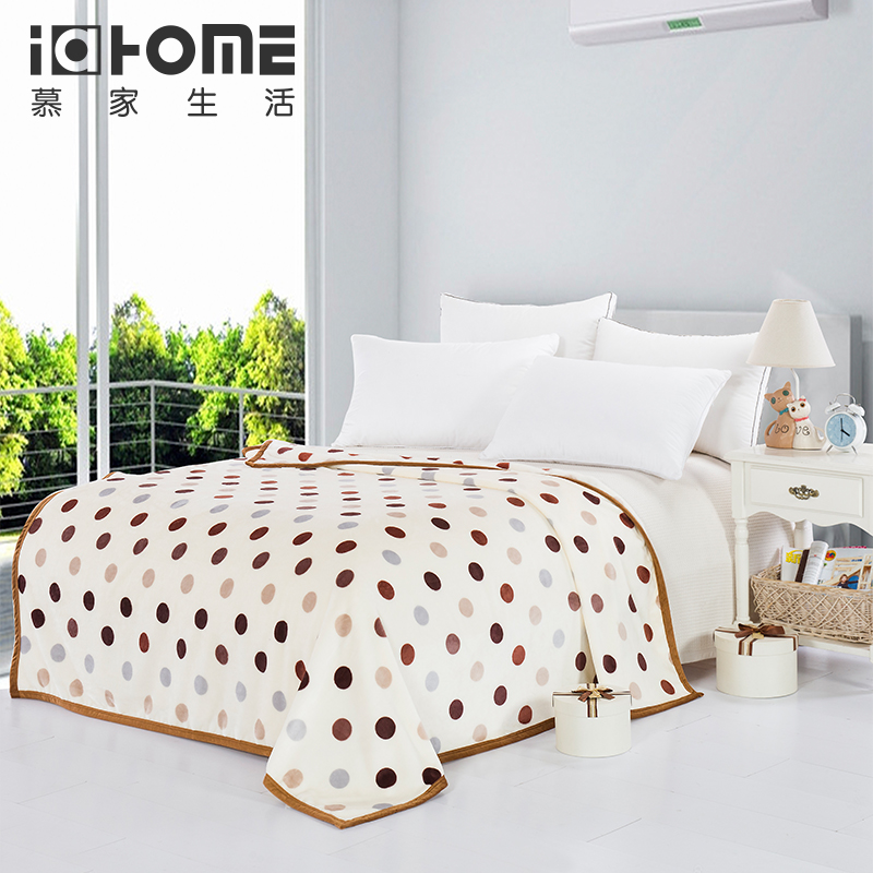 Aliexpress.com : Buy Free shipping little dots design bed blankets ...