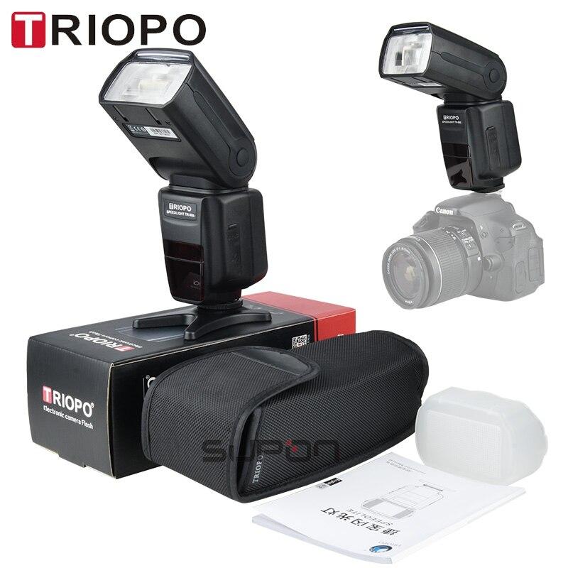 TRIOPO TR-988 Professional Speedlite TTL Kamera Flash med * High - Kamera og foto - Foto 6