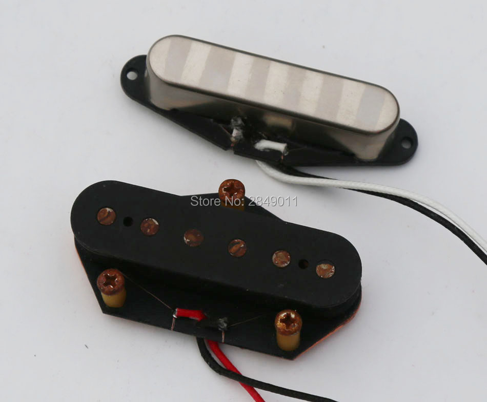 Relic Aged Vintage Pickups for Strat Tele Style Guitars Braided Wire Alnico 5 Magnets