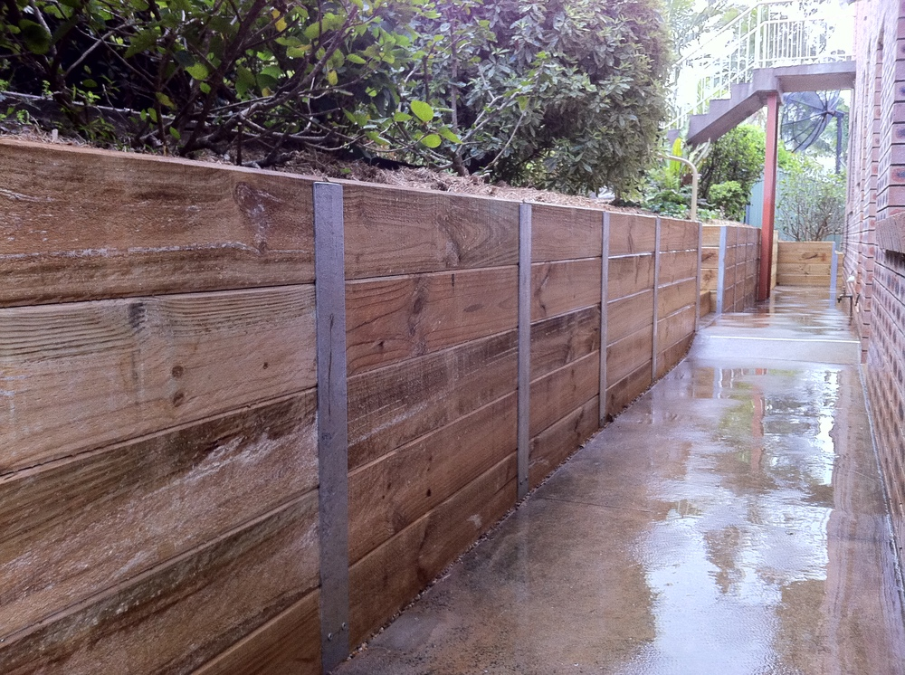 Sleeper Retaining Wall Steel Posts Galvanised C Section-In Fencing