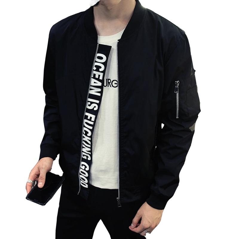 Men 39 s Hip Hop Streetwear Windbreaker Jacket Men women Bomber Jackets Military Coats Yokosuka Outerwear Jaqueta Masculina GA366 in Jackets from Men 39 s Clothing