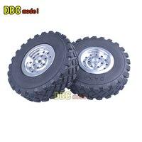 WPL B1 B 1 B14 B 14 B16 B24 B 24 C14 C 14 C24 C 24 RC Car spare parts Metal contour + gravel tire