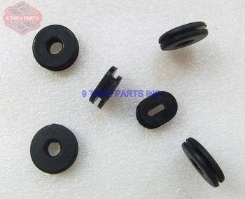 Frame Side Covers Panels Rubber Grommet Kit 6 pcs for RV90 GN250 GN400 GS550 GT750 Also fit Many other Road Bikes image