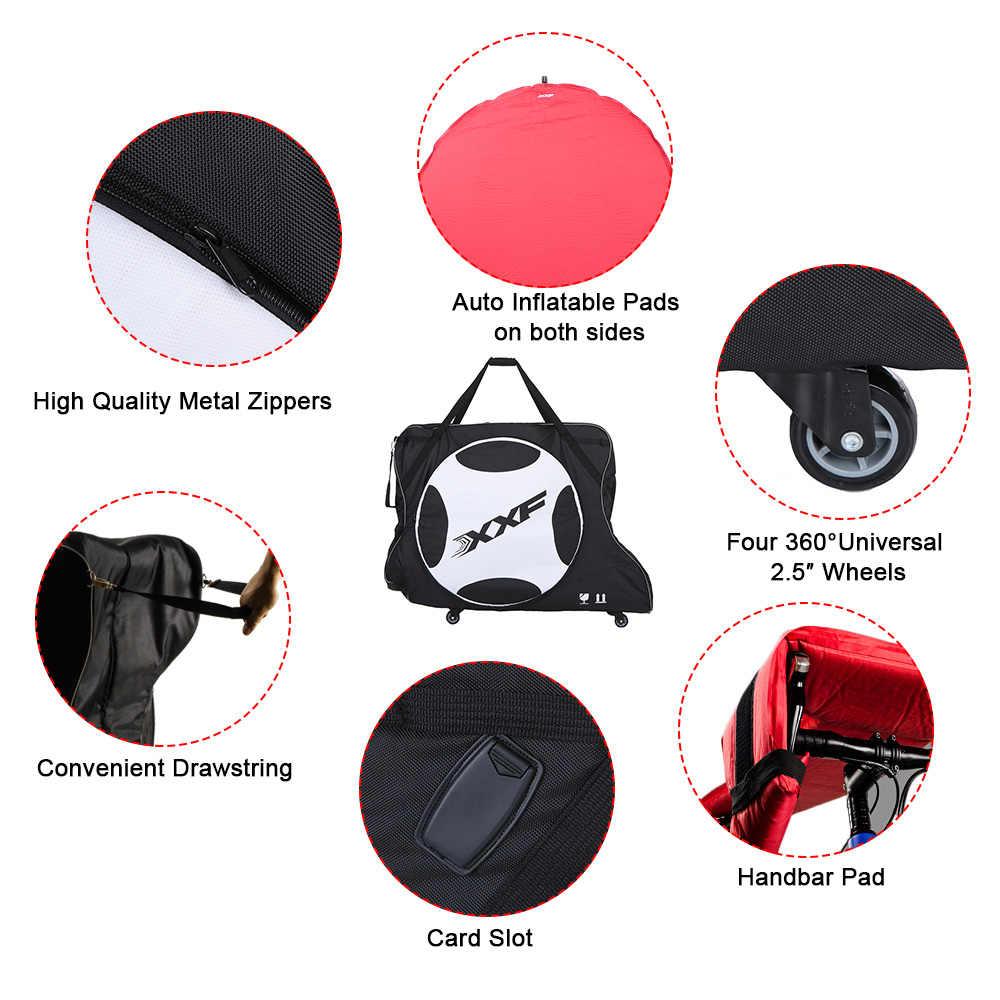 Torba na rower XXF automatycznie nadmuchiwana podkładka rowerowa Transport rower turystyczny torba do noszenia nylonowa torba na torby rowerowe 700C