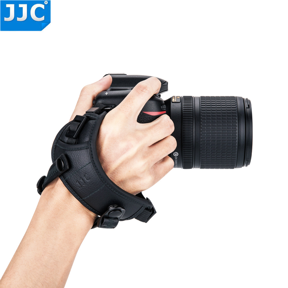 JJC HS PRO1M/HS PRO1P Hand Grip Strap For Most DSLR Cameras With 1/4 20 Tripod Socket For Sony/Nikon/Canon/Panasonic/Olympus