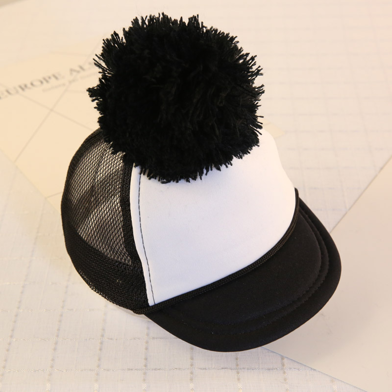 445abe7da47 2018 Fashion Baby Hats For Boys Girls Baseball Cap Children Snapback Cap  Boys Mesh hat Cotton Blank Summer Cap for 0 7Months-in Baseball Caps from  Apparel ...