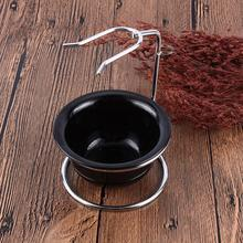 Mens Shaving Bowl, Mug, Brush Holder