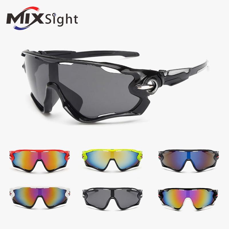 New UV400 Cycling Eyewear Bike Bicycle Sports Glasses Hiking Men Motorcycle font b Sunglasses b font