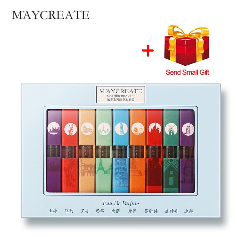 MayCreate city series perfume and Fragra