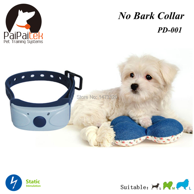 Hot Selling Free Shipping Auto Shock Electric Anti Barking Collar Rechargeable and Waterproof Adjustable Sensitivity Anti Bark