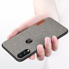 For Xiaomi Redmi Note 7 Case 6a 5 4X Note5 4 Retro cloth Ultra-thin Silica gel protective case For xiaomi Redmi K20 PRO mi 9 8 6(China)