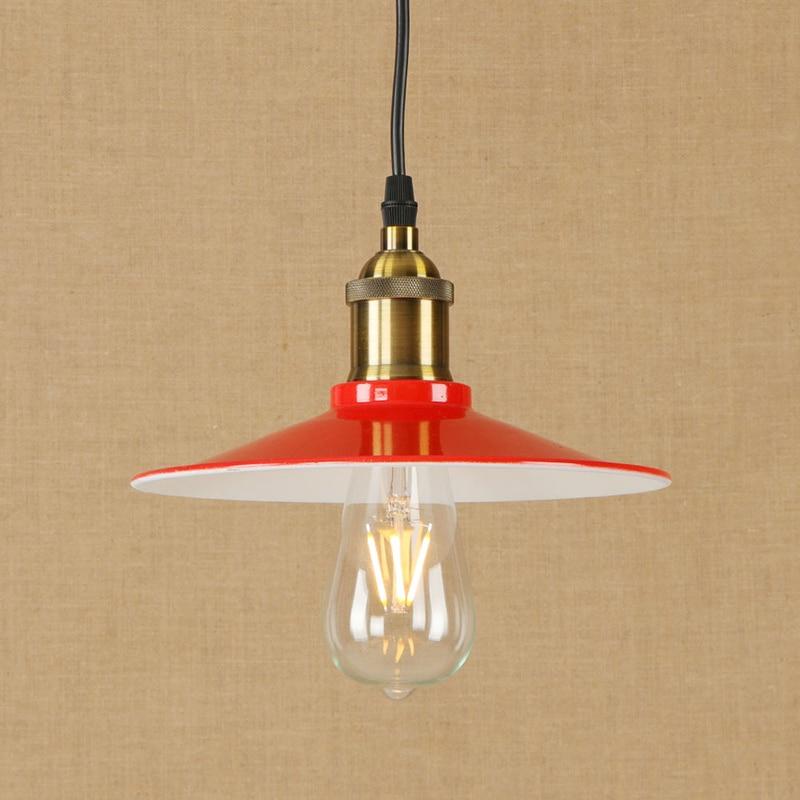 Modern LED iron pendant lamp vintage industry hanging light Loft style bar/restaurant living room bedroom lighting fixture 220v